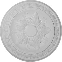 "17 3/4"" x 3 1/8""ID x 1 1/8""P Exeter Ceiling Medallion"