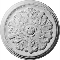 "17 1/8""OD x 1 1/2""P Washington Ceiling Medallion"