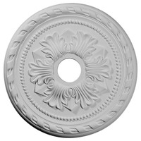 """20 7/8""""OD x 3 5/8""""ID x 1 5/8""""P Palmetto Ceiling Medallion (Fits Canopies up to 5"""")"""