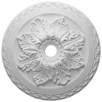 """23 5/8""""OD x 3""""ID x 2""""P Bordeaux Deluxe Ceiling Medallion"""