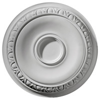 """24 1/4""""OD x 1 1/2""""P Caputo Ceiling Medallion (Fits Canopies up to 6"""")"""