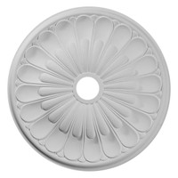 "26 3/4""OD x 3 5/8""ID x 1 3/8""P Elsinore Ceiling Medallion"