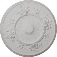 """27""""OD x 1 1/8""""P Flower Ceiling Medallion"""