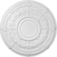 "33 7/8""OD Dauphine Ceiling Medallion (Fits Canopies up to 9 1/2"")"