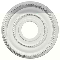 "12 1/8""OD x 3 5/8""ID x 3/4""P Valeriano Ceiling Medallion"