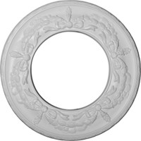 "13 1/4""OD x 7 1/8""ID x 7/8""P Salem Ceiling Medallion"