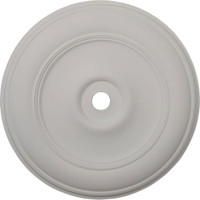 "44 1/2""OD x 4""ID x 4 ""P Classic Ceiling Medallion (Fits Canopies up to 8 1/4"")"