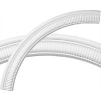 """43 1/4""""OD x 36 3/4""""ID x 1 1/3""""W x 1/4""""P Elsinore Ceiling Ring (1/4 of complete circle)"""