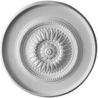"41 1/8""OD x 2 1/2""P Large Floral Ceiling Medallion"