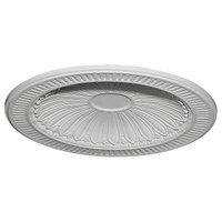 "35 3/8""OD x 27 1/2""ID x 3 1/4""D Devon Recessed Mount Ceiling Dome (31""Diameter x 2 1/2""D Rough Opening)"