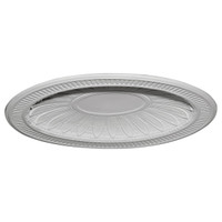 "45""W x 35 1/2""H x 3 3/4""D Devon Recessed Mount Ceiling Dome (39""W x 31""H x 3""D Rough Opening)"
