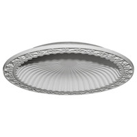 "47""OD x 38 3/8""ID x 5 1/4""D Milton Recessed Mount Ceiling Dome (41"" Diameter x  4 5/8""D Rough Opening)"