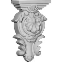 "5 1/2""W x 2 3/4""D x 9 3/8""H Royal Leaf Corbel"