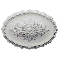 "16 7/8""W x 11 3/4""H x 1 1/2""P Oxford Ceiling Medallion"