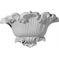 """15""""W x 4 5/8""""D x 9 5/8""""H, Shell Sconce"""