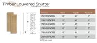 Fypon shutter___LVSH16X48FNCR3S____ 16X48X1 WOODGRAIN