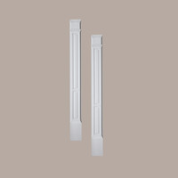 PIL9X100DP____PILASTER DOUBLE PANEL MLD PLTH 100X9X3