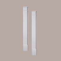 PIL8X90P____PILASTER PLAIN MLD PLTH 90X8X2-1/2