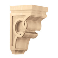 "CRV7014WA_9 1/2"" Medium Celtic Corbel Walnut"