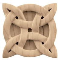"CRV7064MA_2 3/4"" Sq Small Gaelic Tile Maple"