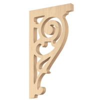 "CRV7110MA_10"" Baroque Bracket Maple"
