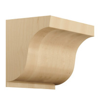 "CRV7130AL_4 1/2"" medium corbel smooth"