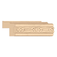 "MLD7034WO_1 15/16"" Traditional w/ Gaelic Insert White Oak"