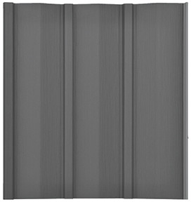 Charcoal Solid Panel