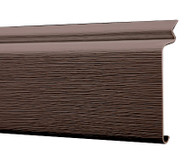 Premium Plus Skirting High Performance Vinyl Trim Top Front (Chocolate or Charcoal)