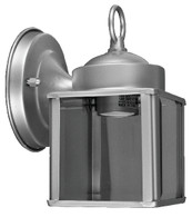 Lantern Style Porch Fixture Brushed Nickel