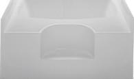 "Fiberglass Garden Tub Size 48""X60"" White Mobile Home"