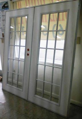 Image 1 & mobile home doors size 72x76 elixir series 4000 double french door