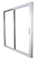 "1600 Series Kinro Vinyl Rolling Glass Door With Screen Size 72""X76"""