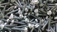 Painted Hex Head Screws (White)