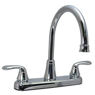 "8"" Kitchen Faucet Chrome High Rise Faucet  Phoenix Brand"