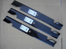 """Blades for Toro 60"""" Cut Grandstand, Z Master, 1057718, 105771803, 1081114, 1081123, 105-7718, 105-7718-03, 108-1114, 108-1123 Hi Lift, Made In USA"""