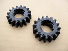 Starter Gears for John Deere LG280104, LG280104S, LG693059, LG695708, M150236, M83184, Set of 2 gear