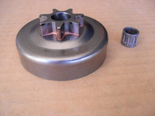 Clutch Drum with Bearing for Jonsered 2035, 2036, 2040 and 2041 chainsaw sprocket