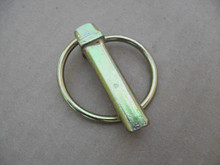 """Caster Yoke Quick Pin for Bobcat 6417304, 64173-04, O.D: 2"""" Length: 1-3/4"""" 7/16"""" O.D. of pin"""
