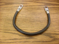 "Negative Black Battery Cable 12"" long, Cushman 882947"