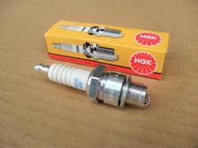 Spark Plug for Subaru Robin EH17D, EH25D, EH25D, EY15-2B, EY15D, EY15D, EY17D, EY18, EY20D, EY20D, EX13, EX17, EX21, EX27 NGK BR6HS, 0650140150, 065-01401-50
