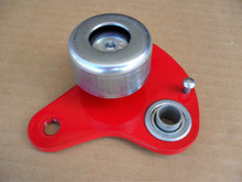 "Belt Idler Arm with Pulley for Craftsman and Mclane Reel Tiff Mower 1047D, 20"" to 25"" Cut Deadman Arm Assembly"