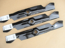 "Hi Lift Mulching Blades for Toro 50"" Cut, GT2100, GT2200, LX500, SL500, 112-0316, 1120316 mulcher, Made In USA"