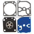 Carburetor Rebuild Kit for Zama C1M-EL37, C1M-EL37A, C1M-EL37B, GND-53, GND-81, GND53, GND81 Gasket and Diaphragm Kit