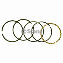 Piston Rings for Briggs and Stratton 7 and 8.5 HP, +.010 Over, 391670, 393882, 690015, 690018