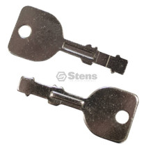 2 Ignition Starter Switch Key for MTD 725-1744, 725-1744A, 725-1745, 925-1745, 925-1745A, keys