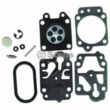 Carburetor Rebuild Kit for Red Max EBZ8000, 506657901, 521614101, 574147601, 848F600630, 848H180630, RM000021, 848-F60-0630