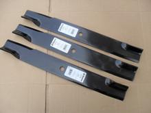 "Blades for Bad Boy 60"" Cut, 038200700, 038605000, 038606000, 038-2007-00, 038-6050-00, 038-6060-00, Blade Set of 3, Hi Lift Blade Set of 3, Made In USA, badboy"