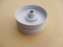 """Flat Idler Pulley for Snapper 76520, 7076520, 7076520YP, 7-6520, Height: 1-3/16"""" ID: 3/8"""" OD: 2-3/4"""""""