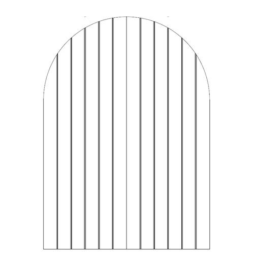 Plank Wood Door (DP1600CA)